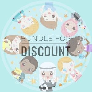 Bundle 2 or more for private offer.